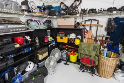 Reduce the Stuff in Your Garage and Also Reduce Your Risk